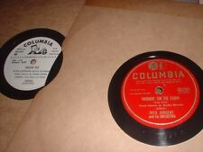 78RPM 2 Columbia by Dick Jurgens, Wedding Day, Holy Cow U Have Done it Now E-