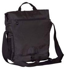 BAGedge Messenger Bag Front Flap Polyester Vertical Messenger Tech Bag. BE043