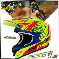 CASCO CROSS ENDURO SCORPION VX-15 VX 15 KISTUNE NEON YELLOW RED TAGLIA L