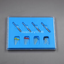 20 Pcs Dental Resin Fiber Post + 4 Drills Screw Glass Endo Thread High-intensity