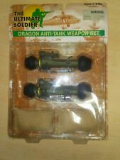 THE ULTIMATE SOLDIER DRAGON ANTI-TANK WEAPON SET (21st Century Toys, 1998) NEW