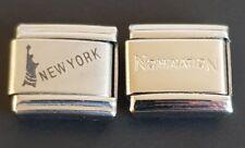 New York Italian Charm Link + 1 Nomination Bracelet Charms Link