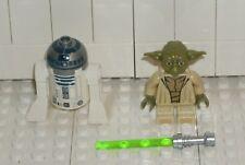 LEGO Star Wars NEW Yoda R2-D2 + Lightsaber 75168 Minifigure Jedi Starfighter