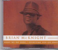 Brian McKnight-What We Do Here Promo cd single