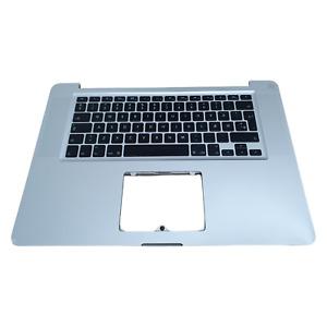 """Apple MacBook Pro A1286 15"""" 2011 - 2012 Palm rest + Danish Keyboard 613-8943"""