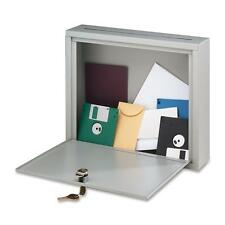 """Buddy Interoffice Mailbox,LG,Drop Slot 10-1/2""""x3/4"""",18""""x7""""x18"""",PM 562632"""