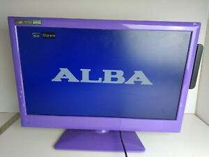"ALBA 22"" Purple TV/DVD Combi - AELKDVD2288PF - HD With DVD Built In"