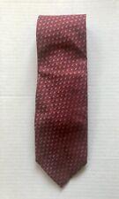 ERMENEGILDO ZENGA Patterned 100% Silk Tie