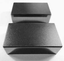 NEW 2 COVERS HUMBUCKER plastique poli mat noir pour micro guitare