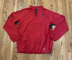 Nike Baseball Griffey Swingman 1/4 Zip Pullover Windbreaker Jacket Mens Large L