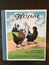 Hopsi - Ein lustiges Bilderbuch v. Ernst Kutzer und A. Holst, ca. 1960