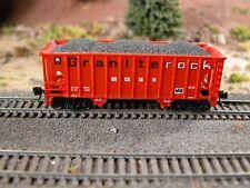 Coke Breeze / Petroleum Coke Load - Fits WalthersGreenville 100T, 2-Bay Hoppers