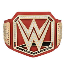 WWE UNIVERSAL CHAMPIONSHIP TOY TITLE BELT 2017 RAW OFFICIAL NEW