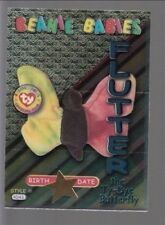 TY beanie Babies Series 3 Birthday Card Flutter Teal #36