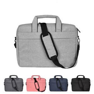 "Laptop Shoulder Bag Carry Case Cover For 13.3"" 14"" 15.4'' 15.6"" Macbook Dell PH"