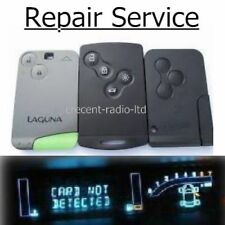 Renault Espace Laguna Key Card REMOTE CAR 2 Button Repair SERVICE