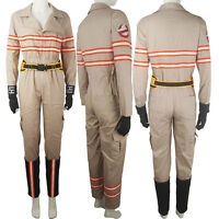 Movie Ghostbusters Jumpsuit Suit Outfit Female Women Halloween Cosplay Costume