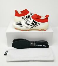 Adidas X 16+ Purechaos FG/AG limited Soccer Cleats (US 10.5) Champagne/Red/Black