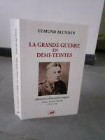 Edmund Blunden - la Grande Guerra En Cara - 2018 - Ediciones Nadeau