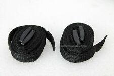 Optical Hardware narrow binocular strap (twin pack) for binoculars. Black