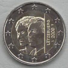 2 Euro Luxemburg 2009 Großherzogin Charlotte unz