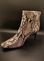 New Cult Gaia Arezoo Boots Snakeskin Booties Size 10 Retail $508