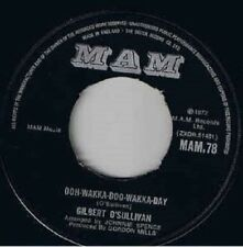 "Gilbert O'Sullivan – Ooh-Wakka-Doo-Wakka-Day 7"" vinyl  disc. Dinked copy"