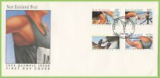 New Zealand 1992 Olympics Games First Day Cover