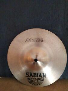 "Sabian AA 10"" Splash Cymbal In Good Used Condition."