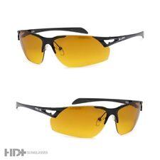 HD Driving Metal Aviator SunGlasses Vision Blue Blocker High Definition Black MT