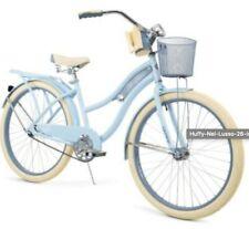 Huffy 24 Inch Nel Lusso Cruiser Bike - Blue Satin