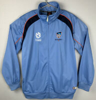 Sydney FC Hyundai A-League Full Zip Jacket Blue Mens L Large NWT