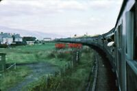 PHOTO  MALLAIG JUNCTION 1979  VIEW FROM CARRIAGE
