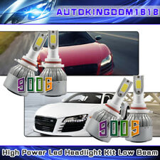 9005 +9006 LED Headlight Comobo High Low Beam Bulb Kits 1960W 294000LM Total