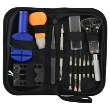 21 PC WATCH REPAIR TOOL KIT CASE OPENER WATCH SPRING BAR HAND REMOVER WITH CASE
