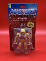 Masters of the Universe Origins HE-MAN 2020 MOTU Mattel Action Figure New NIB