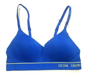 Calvin Klein Women's Lightly Lined Bra CK ONE NWT
