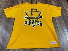Pittsburgh Pirates Men's Yellow MLB Baseball T-Shirt - Mitchell & Ness - XL