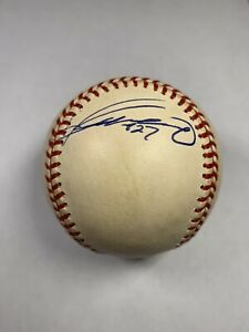 Vladimir Guerrero autograph Major League Baseball  Expos Angels Hall of Fame