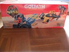 "M.A.S.K. ""Goliath"" Matt Trakker+Nevada Rushmore MASK Transporter mit Rennwagen"