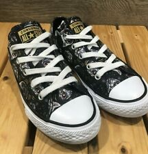 Converse Chuck Taylor All Star Sugar Skulls Cats Sneakers Girl's Shoe Size 13