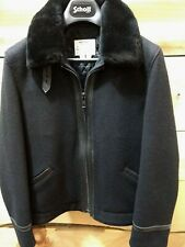 NEW Perfecto Brand By Schott NYC Wool & leather - jacketRARE Made in USA P-7422