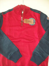 Barbour International Cotton Fowler Zip Neck Sweatshirt Sweater NWT Large $199