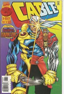 °CABLE #43 BROKEN SOLDIERS° US Marvel 1997 First Brian K. Vaughan in Marvel