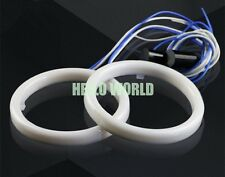 2X 60mm Cotton Angel Eyes Halo Ring Red SMD Light Lamp LED Cover G185