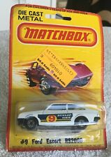 Matchbox 9, Ford RS2000, 1978, Mint on a card, Lesney Products, England