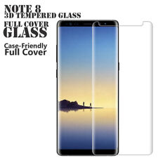 New Samsung Galaxy Note 8 Tempered Glass Screen Protector - Case Friendly Glass