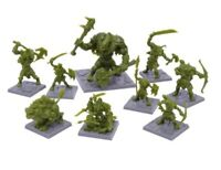 Mantic Games Dungeon Saga: Green Rage Miniatures Set (Warhammer, Kings Of War)