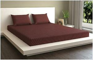 MARKHOME Cotton Striped Queen Size Bedding Set-P1C