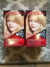 Revlon Ammonia Free Light Blonde Hair Color Number 81 Revlon Lot Of 2